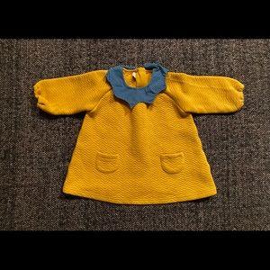 Organic mom  Korean brand 💯 cotton dress 9-12m